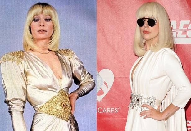 Raffaella Carrà e Lady Gaga