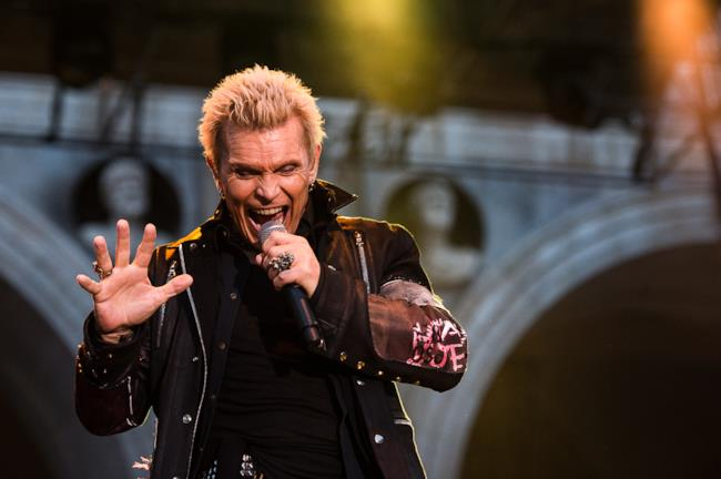 Billy Idol live a Brescia