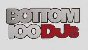 Logo della classifica Bottom DJs 2016