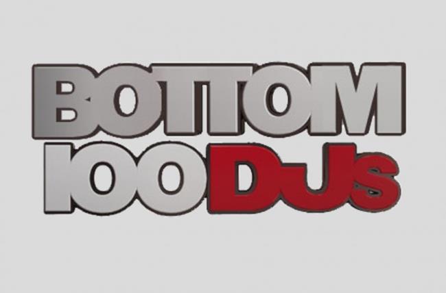 Logo della classifica Bottom DJs 2016