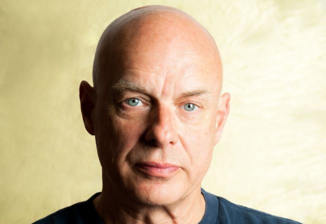 Il produttore britannico Brian Eno