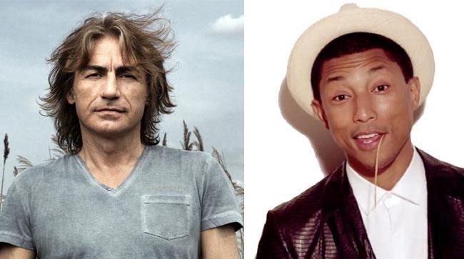 Ligabue e Pharrell Williams