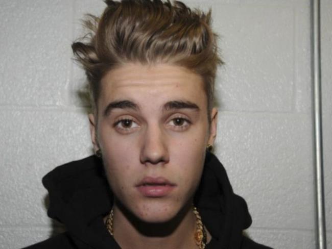 Il cantante pop canadese Justin Bieber
