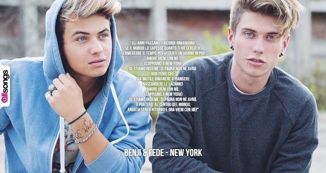 Benji & Fede New York singolo