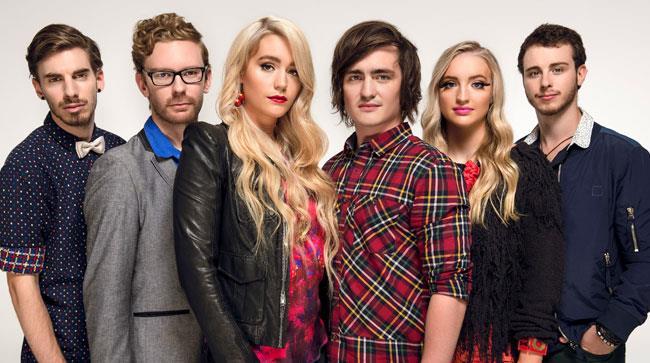 I sei componenti della band australiana Sheppard