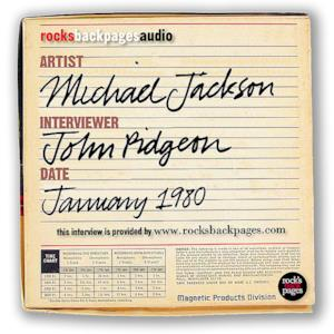 Michael Jackson Interview by John Pidgeon (January, 1980)