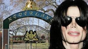 Cancello di Neverland, la villa di Michael Jackson