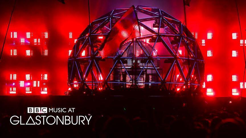 Deadmau5, stage di Glastonbury