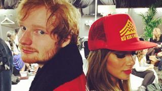 Ed Sheeran e Nicole Scherzinger