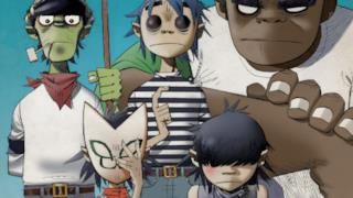 Gorillaz la band di cartoni animati fondata da Damon Albarn