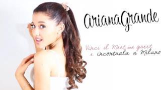 Ariana Grande meet and greet Milano 2014