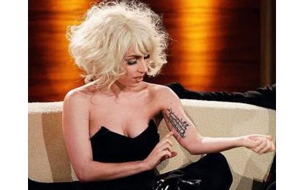 Tatuaggi Di Lady Gaga Allsongs