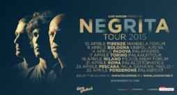 Negrita Tour 2015 locandina con città e date