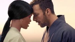 Rihanna e Chris Martin insieme nel video di Princess of China