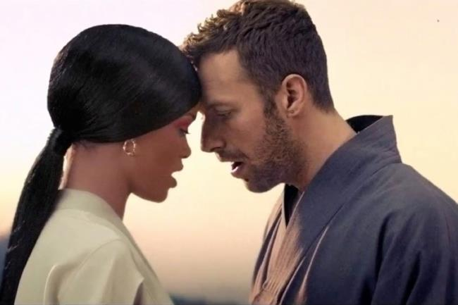 Rihanna e Chris Martin insieme nel video di Princess of China