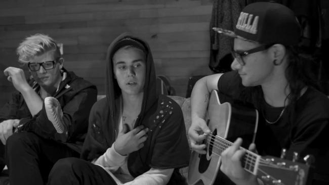 La popstar Justin Bieber.