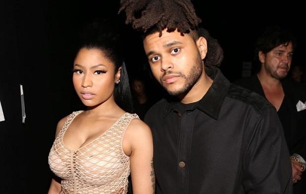 Nicky Minaj e The Weeknd fotografati insieme