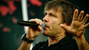 Bruce Dickinson degli Iron Maiden