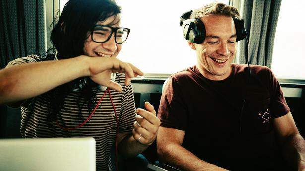 Skrillex e Diplo hanno rilasciato il primo album del loro duo Jack U