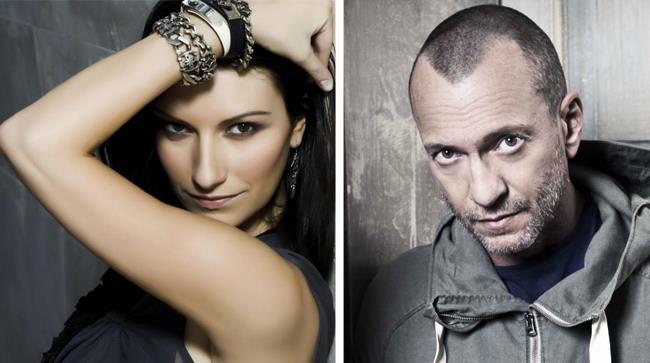 Laura Pausini e Biagio Antonacci in concerto