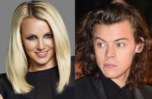 Britney Spears e Harry Styles