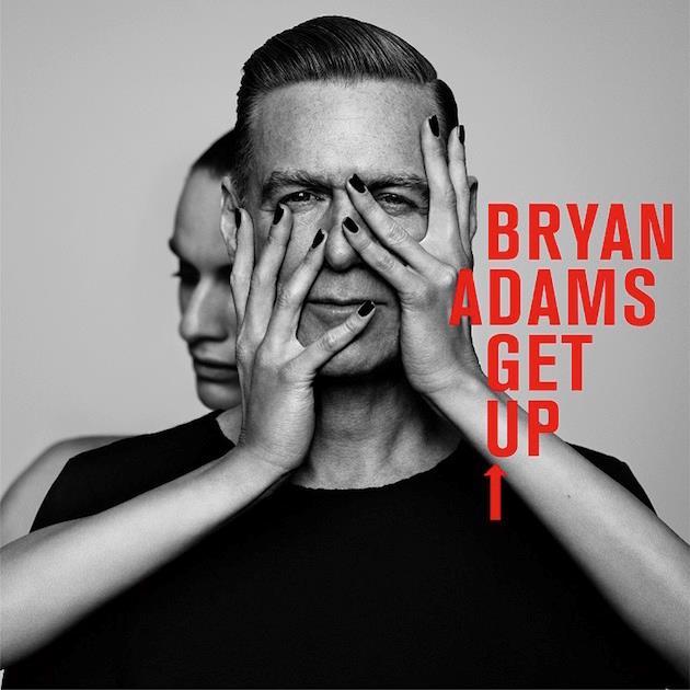 La copertina di Get Up, il nuovo album 2015 di Bryan Adams