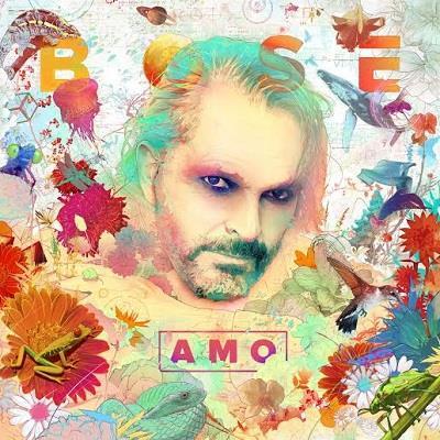 La copertina dell'album Amo di Miguel Bosé