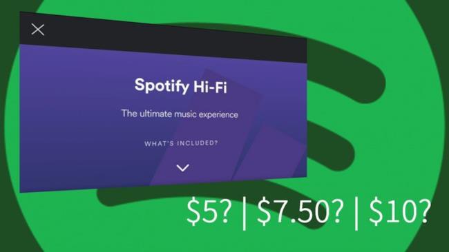 Il nuovo servizio Spotify Hi-Fi a breve disponibile