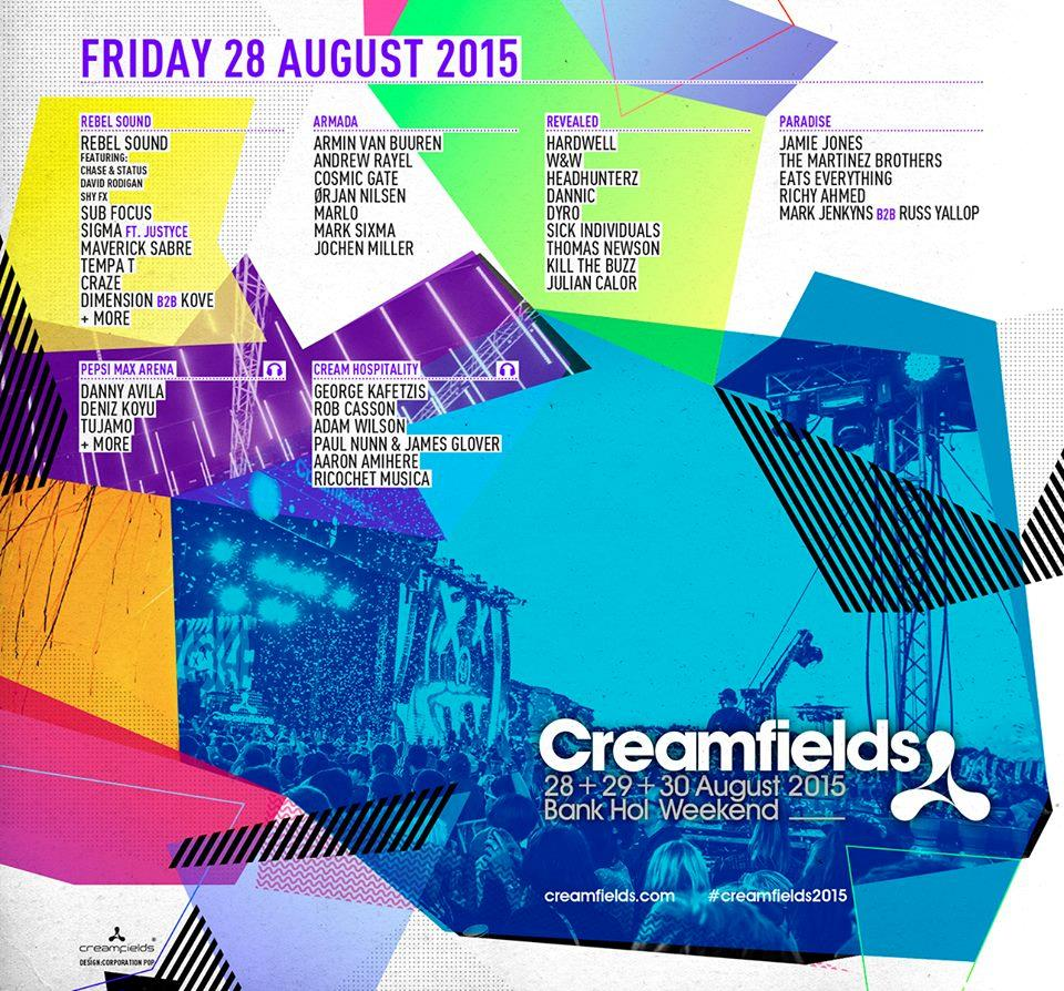 Creamfields 2015 Friday