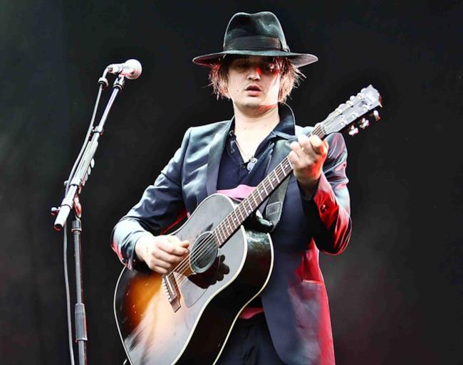 Pete Doherty sul palco