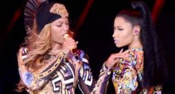 Beyoncé e Nicki Minaj insieme sul palco dell'On The Run Tour
