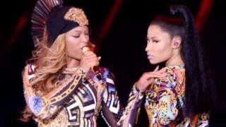 Beyoncé e Nicki Minaj insieme sul palco dell'On The Run Tour