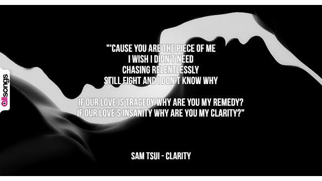 Sam Tsui: le migliori frasi dei testi delle canzoni