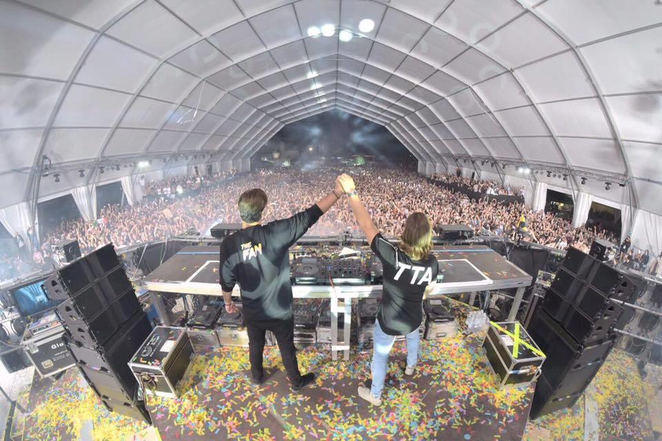 Axwell /\ Ingrosso sullo stage di Nameless Music Festival