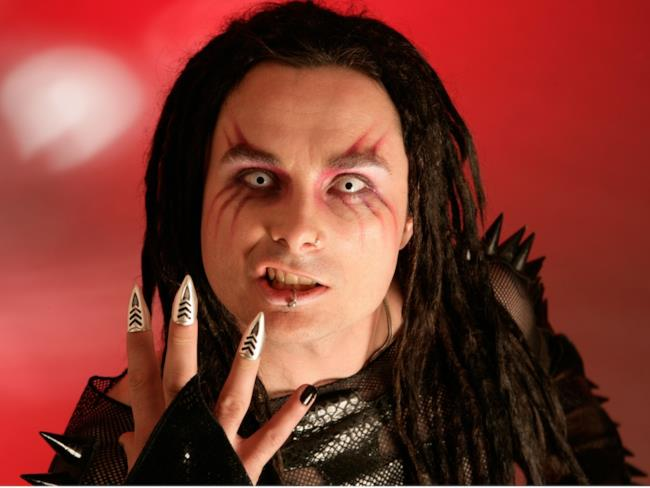 Dani Filth, cantante dei Cradle of Filth