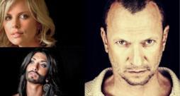 Biagio Antonacci, Conchita Wurst e Charliza Theron
