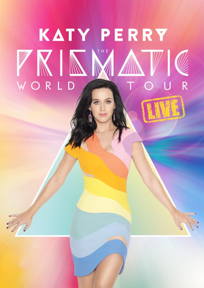 Katy Perry cover DVD Prismatic Tour live