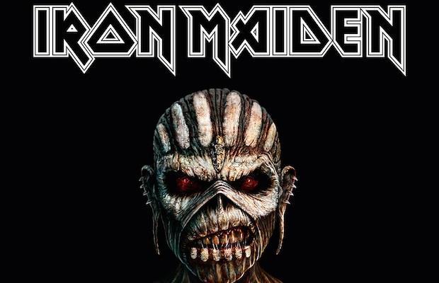 La copertina di The Book fo Souls degli Iron Maiden