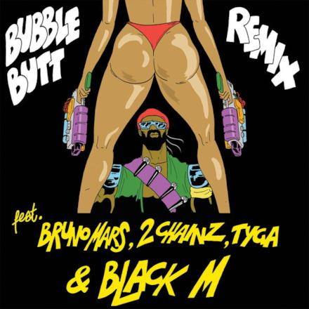 Bubble Butt (Remix) [feat. Bruno Mars, 2 Chainz, Tyga & Black M] - Single