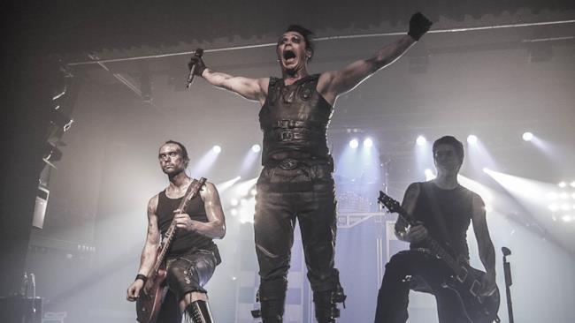 I Rammstein dal vivo