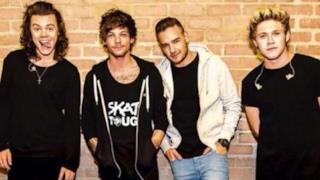 Harry, Louis, Liam e Niall