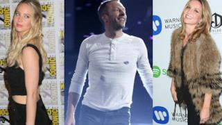 Chris Martin tra Jennifer Lawrence e Annabelle Wallis