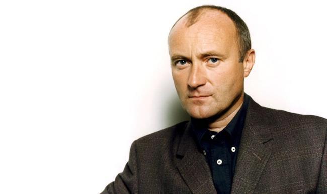Il musicista britannico Phil Collins