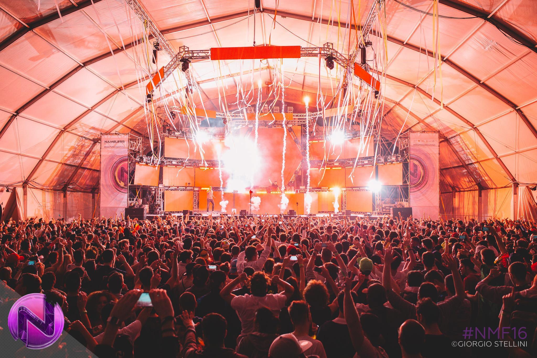 Fedde Le Grande sul Mainstage del Nameless Music Festival 2016