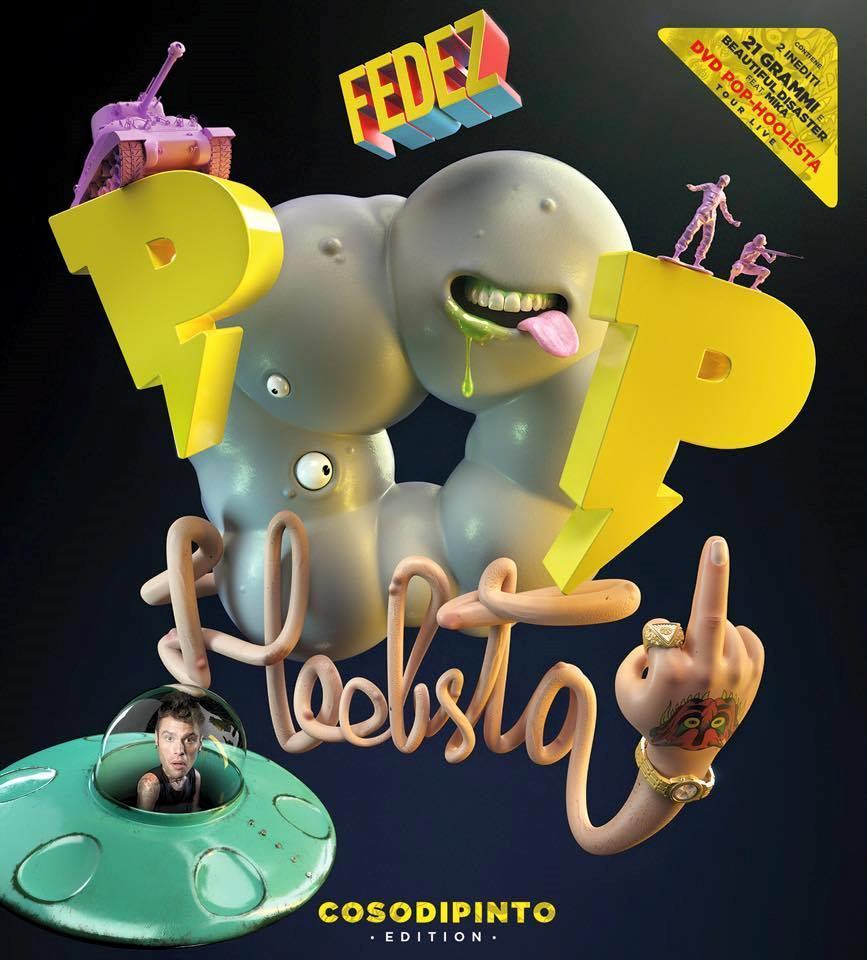 Pop-Hoolista Cosodipinto Edition con due inediti e il DVD del tour