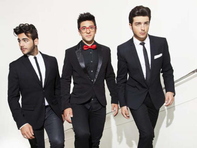 I tre ragazzi de Il Volo, giovane gruppo lirico italiano