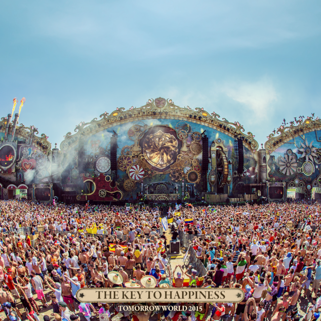 TomorrowWorld 2015 stage