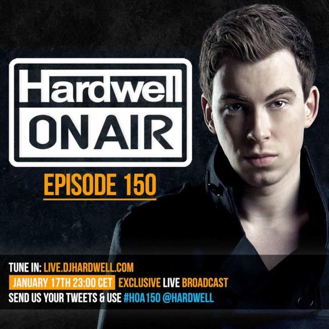 Show radio del dj olandese Hardwell