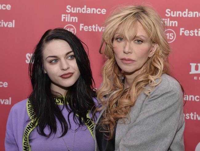 Courtney Love con la figlia Frances Bean