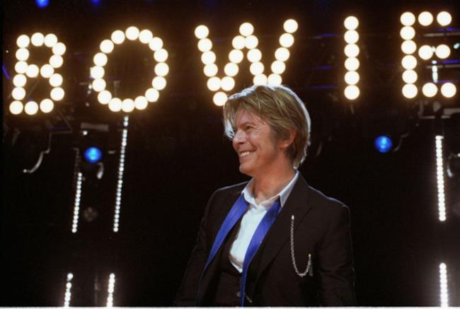 David Bowie, superstar inglese attivo dagli anni Sessanta
